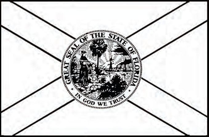 The design of Florida's current flag was adopted in 1900.