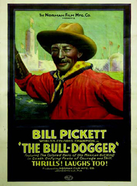 Bill Picket - The Bull Dogger Movie Poster