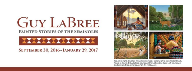 Guy LaBree: Painted Stories of the Seminoles