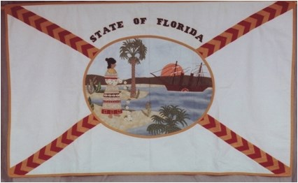 Florida State Flag Quilt