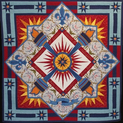 Glory Be Liberty Quilt