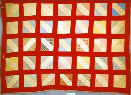 Three Patch Friendship Quilt