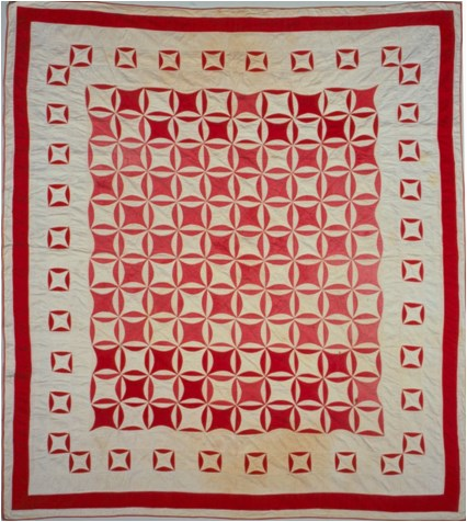 Robbing Peter to Pay Paul Pattern Quilt