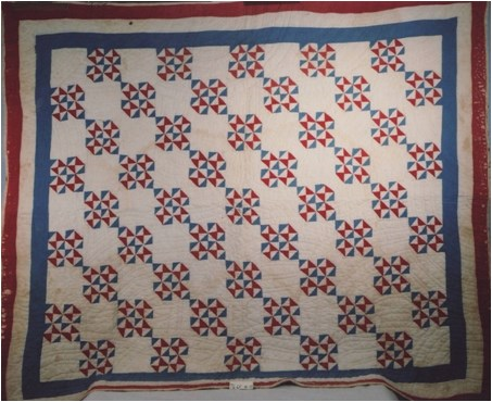 WWII Red, White, and Blue Quilt
