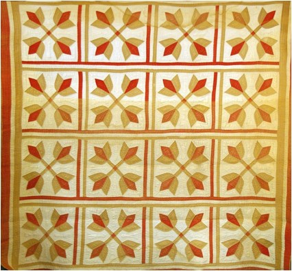 Crossed Tulips Quilt