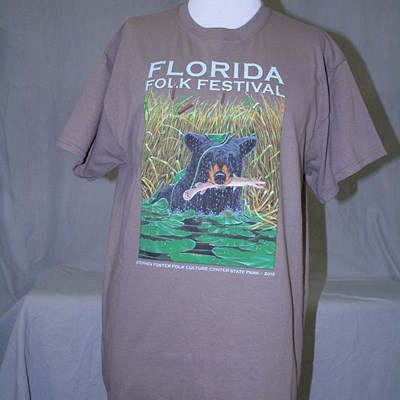 Florida Folk Festival T-shirt